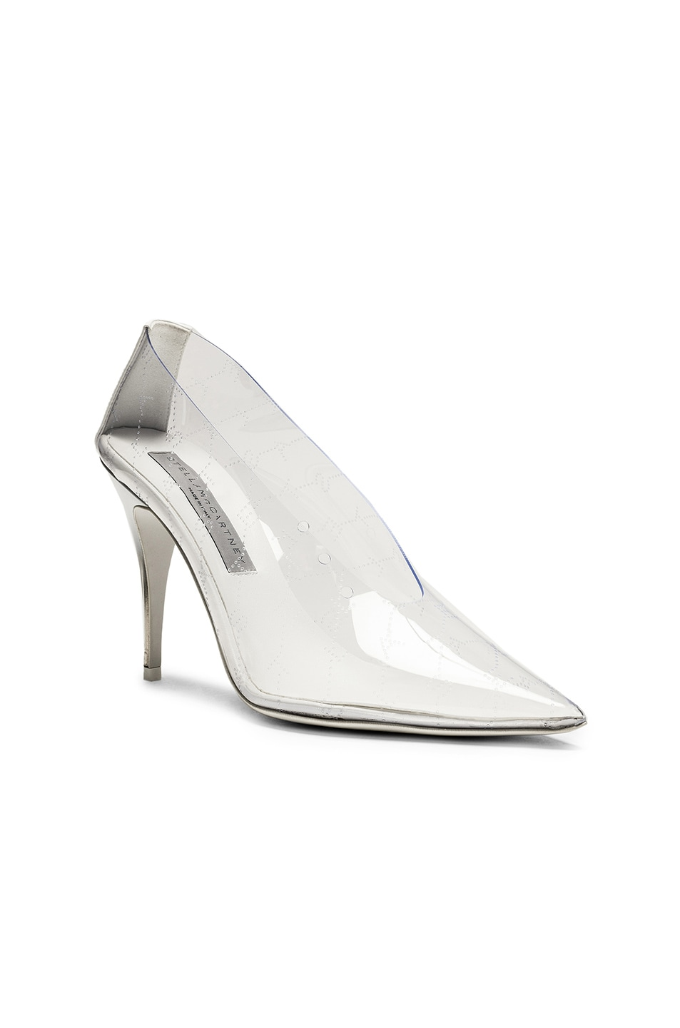 Image 2 of Stella McCartney Clear Pumps in Transparent & White