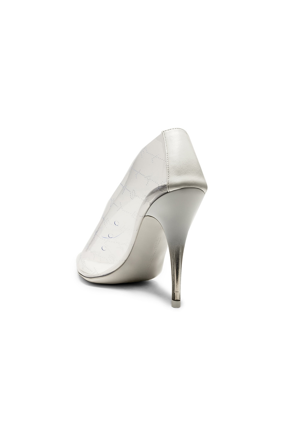 Image 3 of Stella McCartney Clear Pumps in Transparent & White