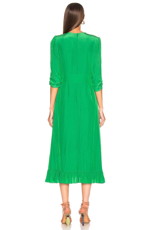 Image 3 of Smythe Midi Tea Dress in Grass