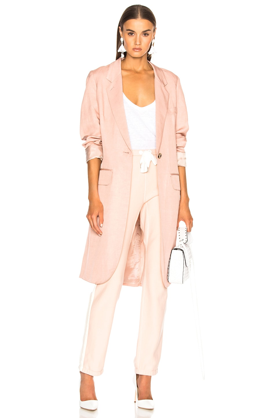 SMYTHE OVERCOAT IN PINK