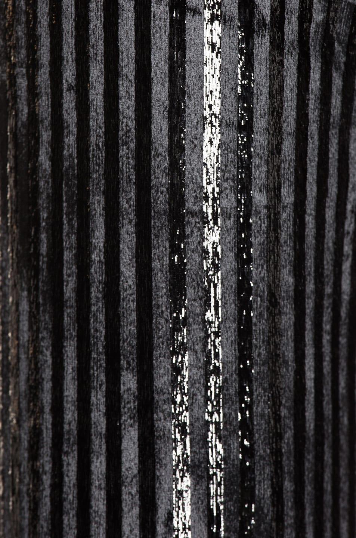 Image 6 of Smythe Velvet Tie Blazer in Black Lame Stripe