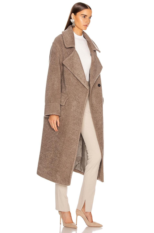 Image 3 of Smythe Teddy Coat in Greige