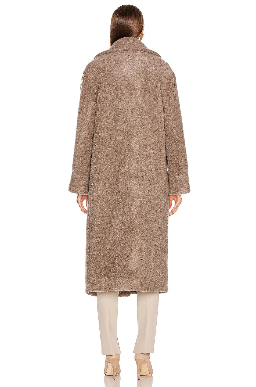 Image 4 of Smythe Teddy Coat in Greige
