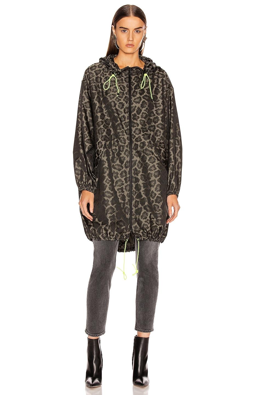Image 2 of Smythe Anorak Jacket in Leopard & Neon