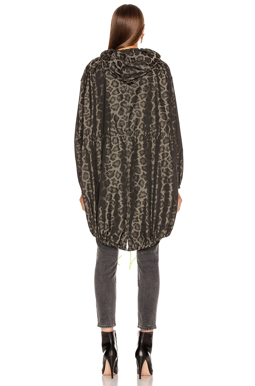 Image 4 of Smythe Anorak Jacket in Leopard & Neon