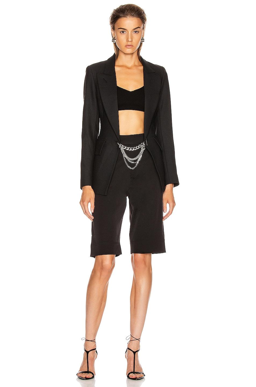 Image 4 of Smythe x Jenny Bird Collab Blazer in Black & Rhodium