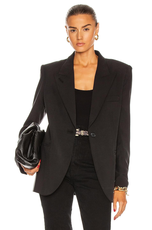 Image 1 of Smythe 90's Blazer in Sand-washed Black
