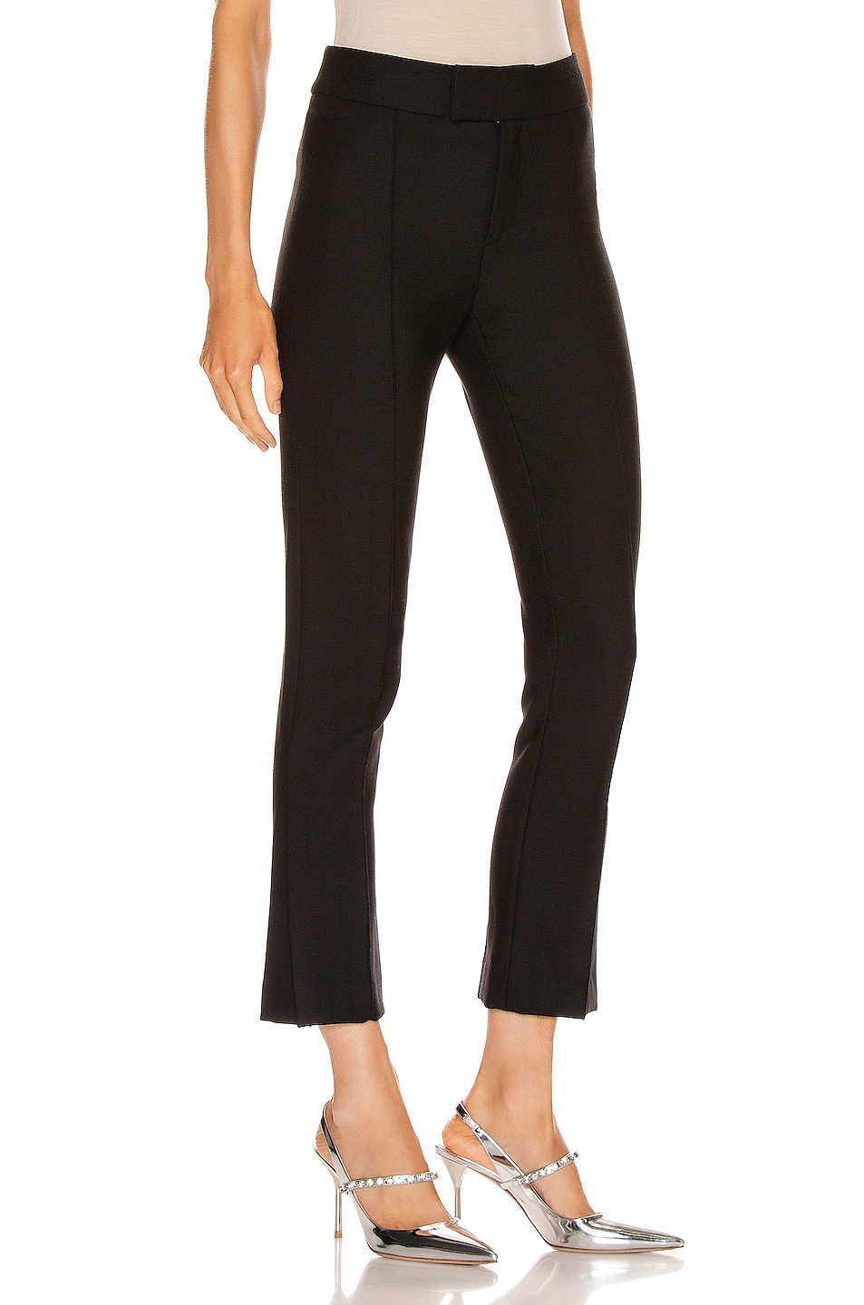 Image 2 of Smythe Stovepipe Pant in Black