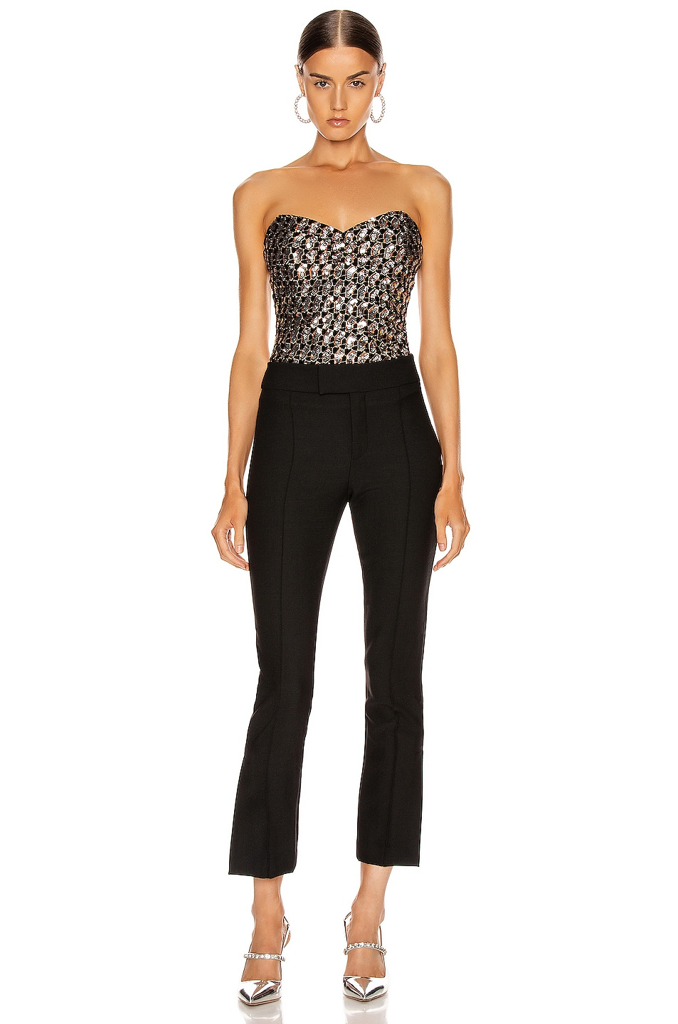 Image 4 of Smythe Stovepipe Pant in Black