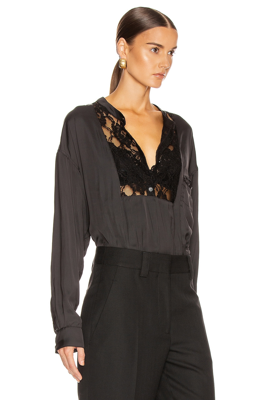 Image 2 of Smythe Lace Bib Top in Black