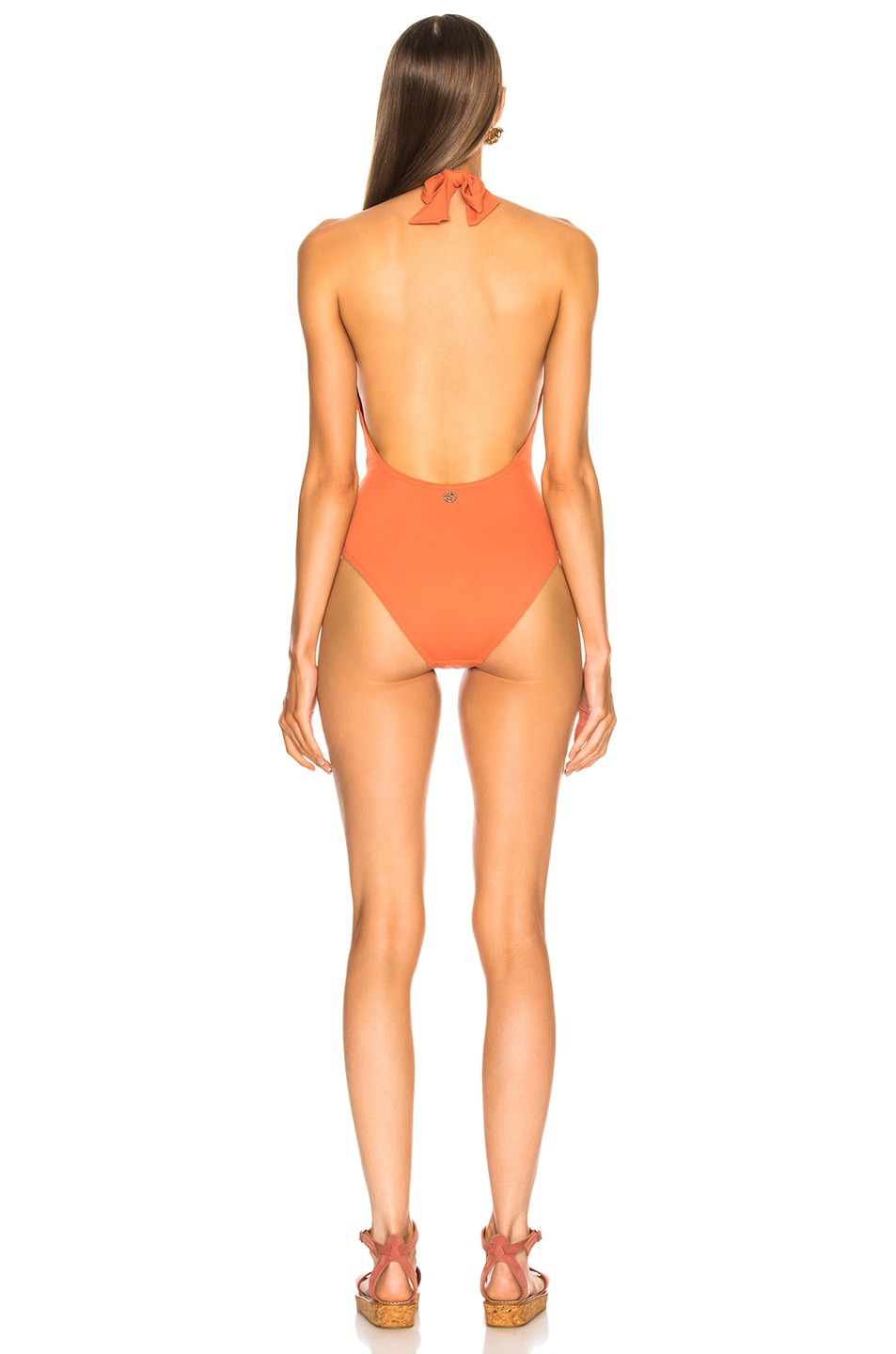Image 3 of Sand & Blue Mia Swimsuit in Coral