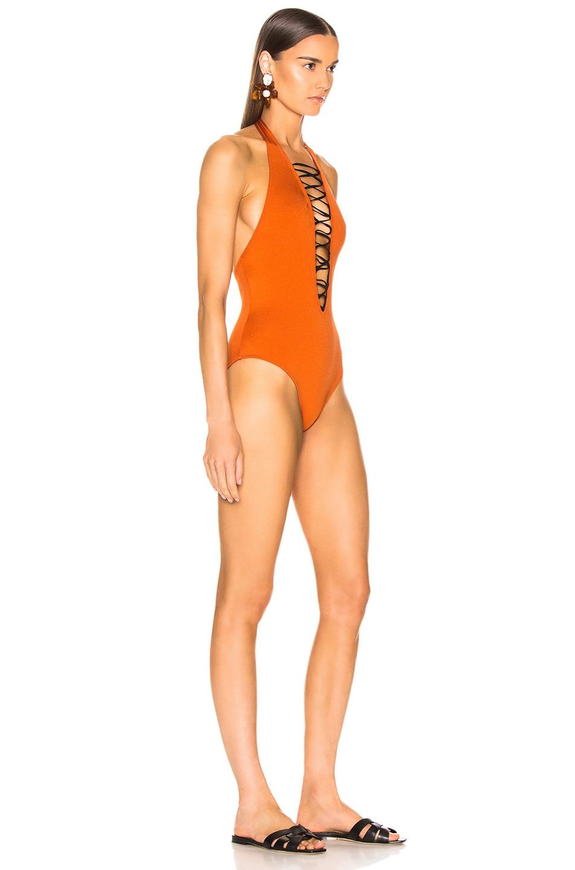 Image 2 of Sand & Blue Autie Swimsuit in Ocra