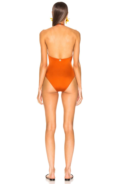 Image 3 of Sand & Blue Autie Swimsuit in Ocra