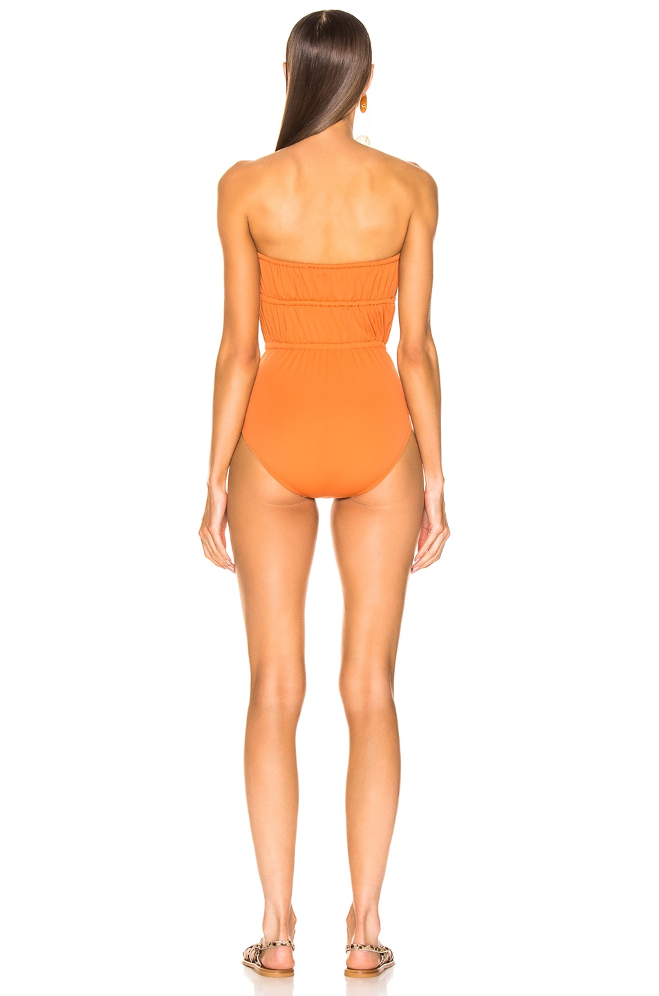 Image 3 of Solid & Striped Paula Swimsuit in Bronze