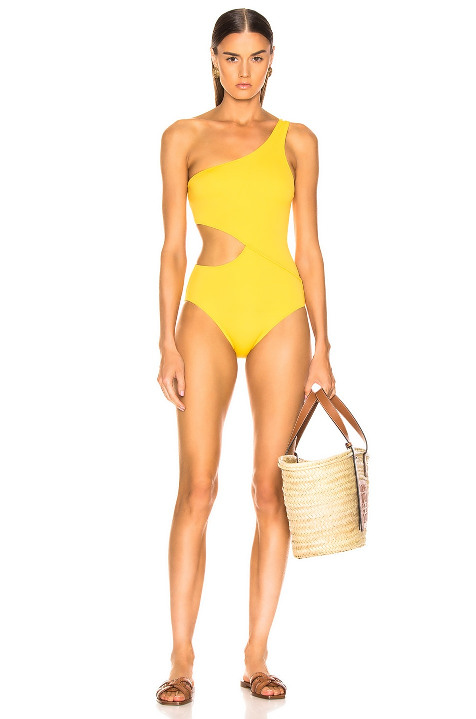Image 1 of Solid & Striped Claudia Swimsuit in Tweety