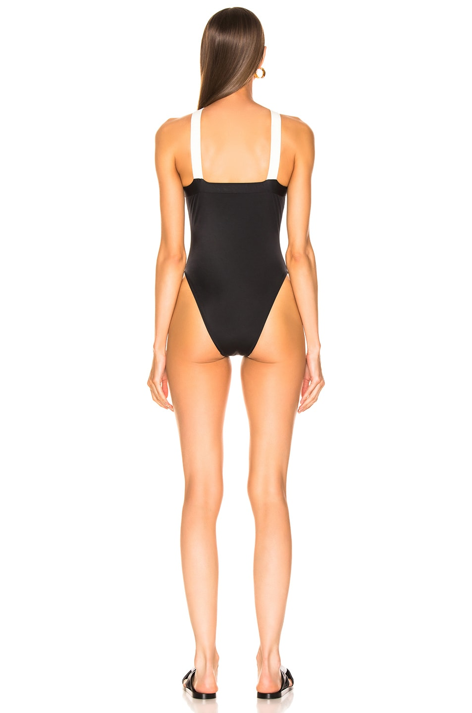 Image 3 of Solid & Striped Sandra Swimsuit in Black