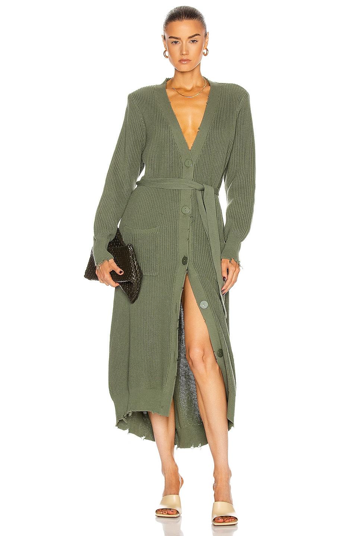 Image 1 of SER.O.YA Amanda Sweater Dress in Olive