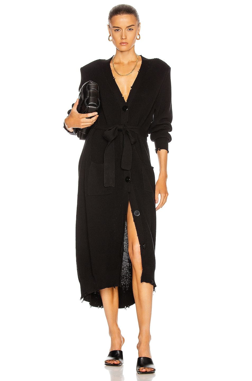 Image 1 of SER.O.YA Amanda Sweater Dress in Black