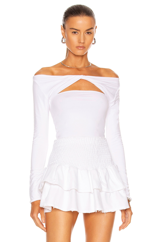 Image 1 of SER.O.YA Artemis Top in White