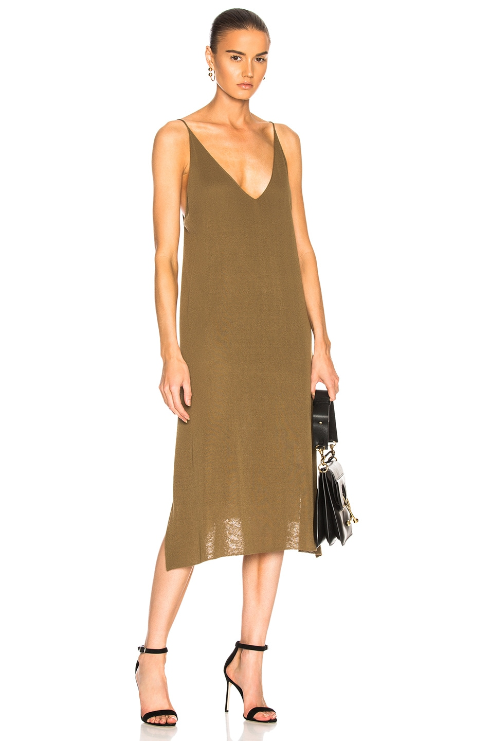 SOYER PIPER CAMI DRESS IN GREEN