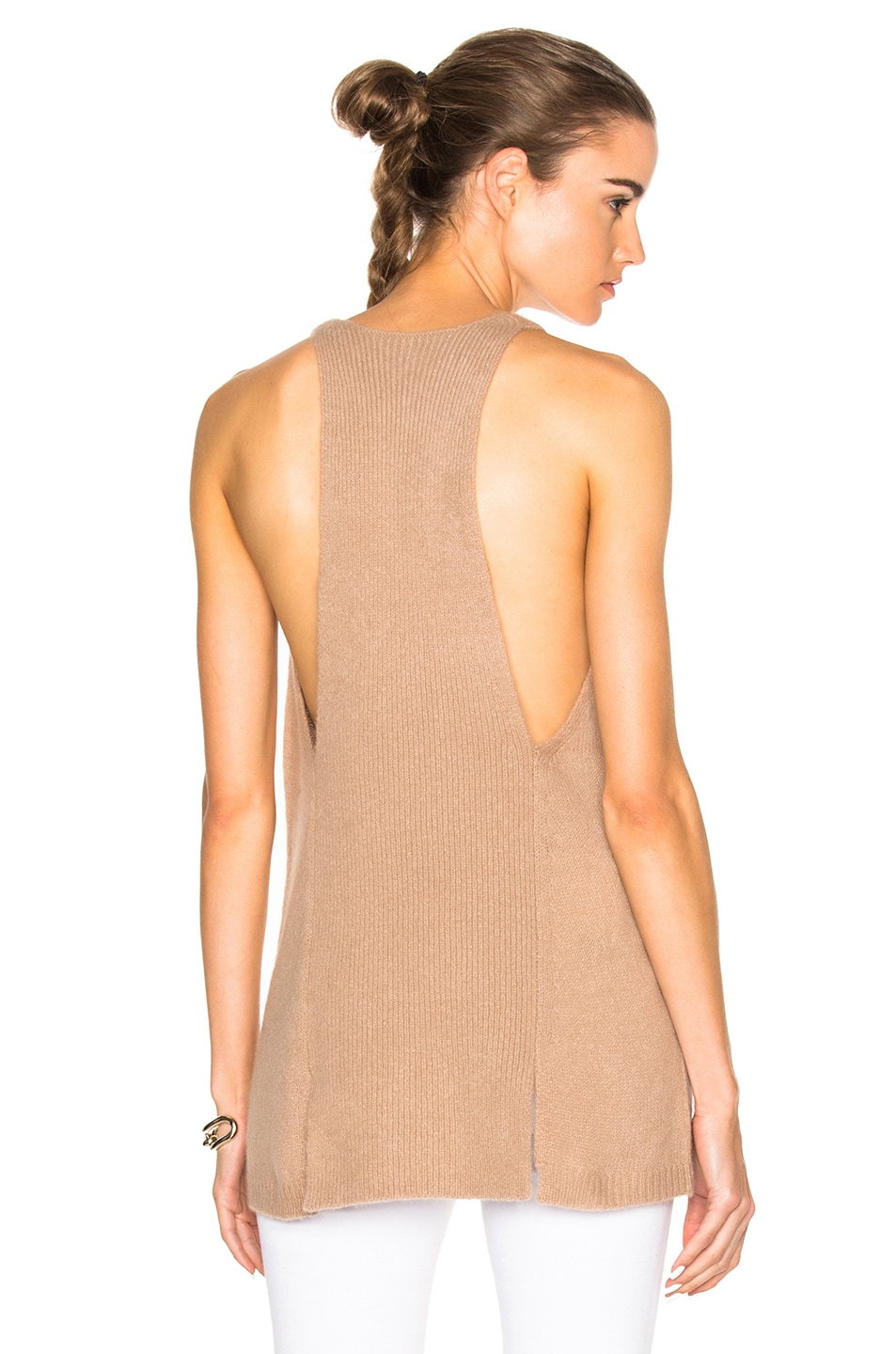 Image 1 of Soyer Halter Tank Top in Faune