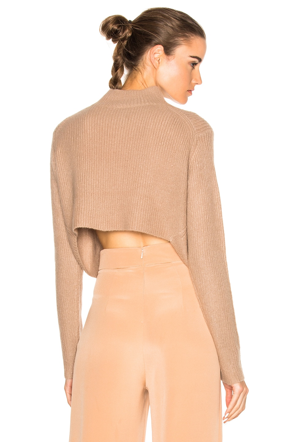Image 1 of Soyer Crop Sweater in Faune