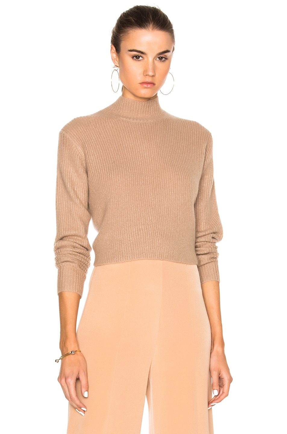 Image 2 of Soyer Crop Sweater in Faune