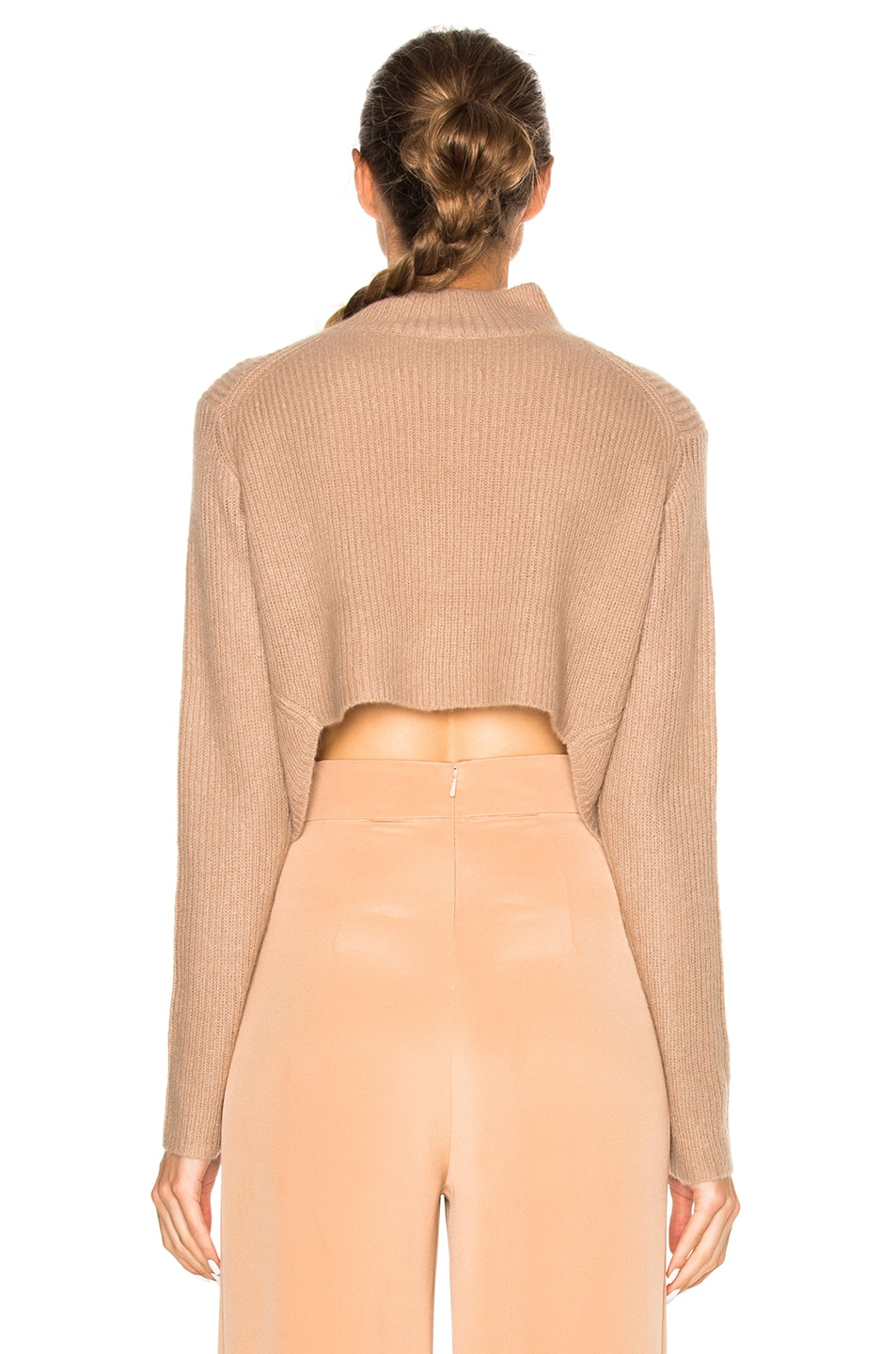 Image 5 of Soyer Crop Sweater in Faune