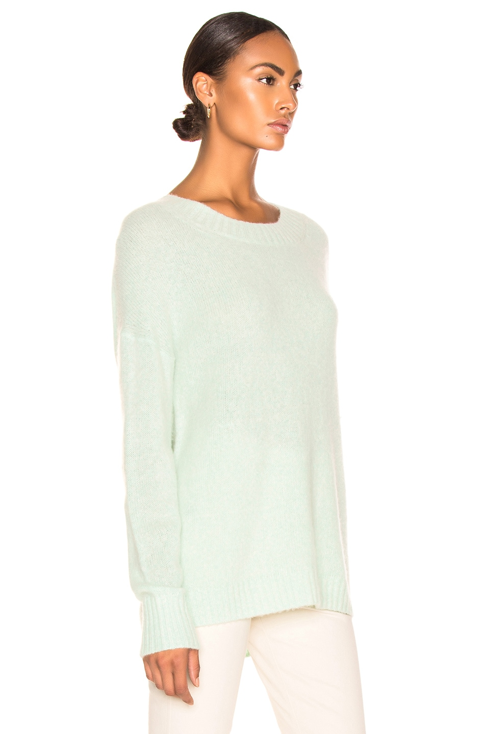 Image 2 of Soyer Anna Cashmere Scoopneck in Celadon