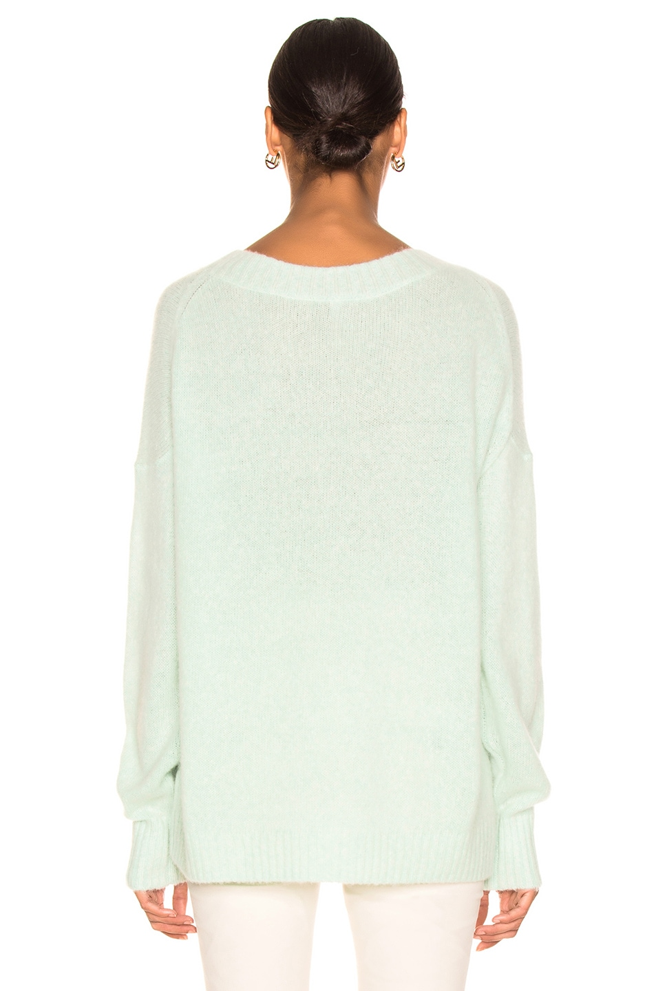 Image 3 of Soyer Anna Cashmere Scoopneck in Celadon