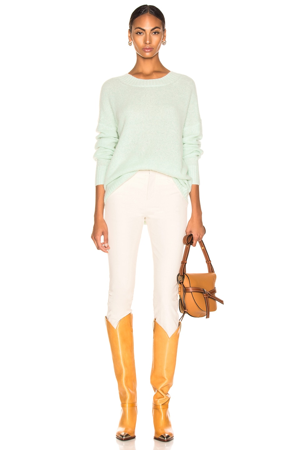 Soyer Anna Cashmere Scoopneck Celadon low-cost