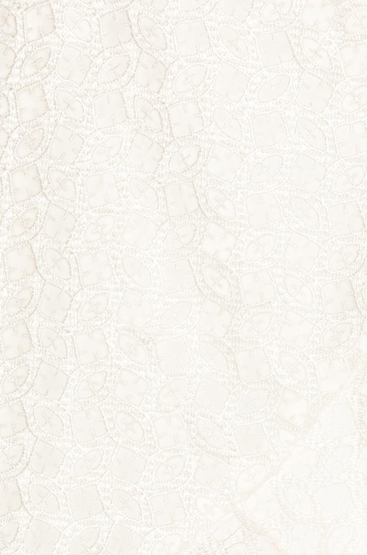 Image 5 of self-portrait Asymmetric Ruffle Dress in White