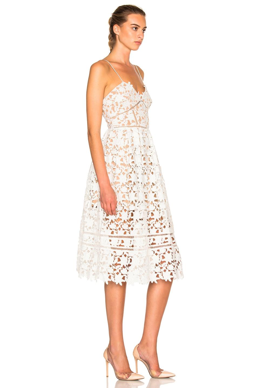 d534907395a7 Image 3 of self-portrait Azaelea Dress in White