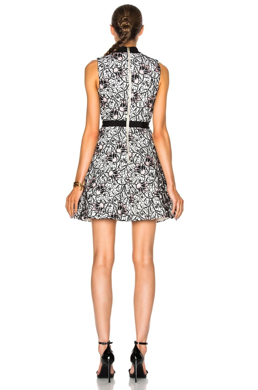 600ea773f94f Image 4 of self-portrait Nightshade Mini Dress in Black