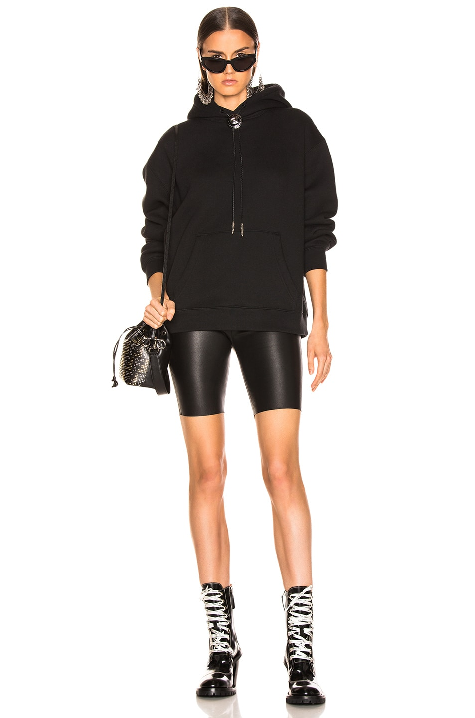 Image 4 of SPRWMN Biker Short in Black