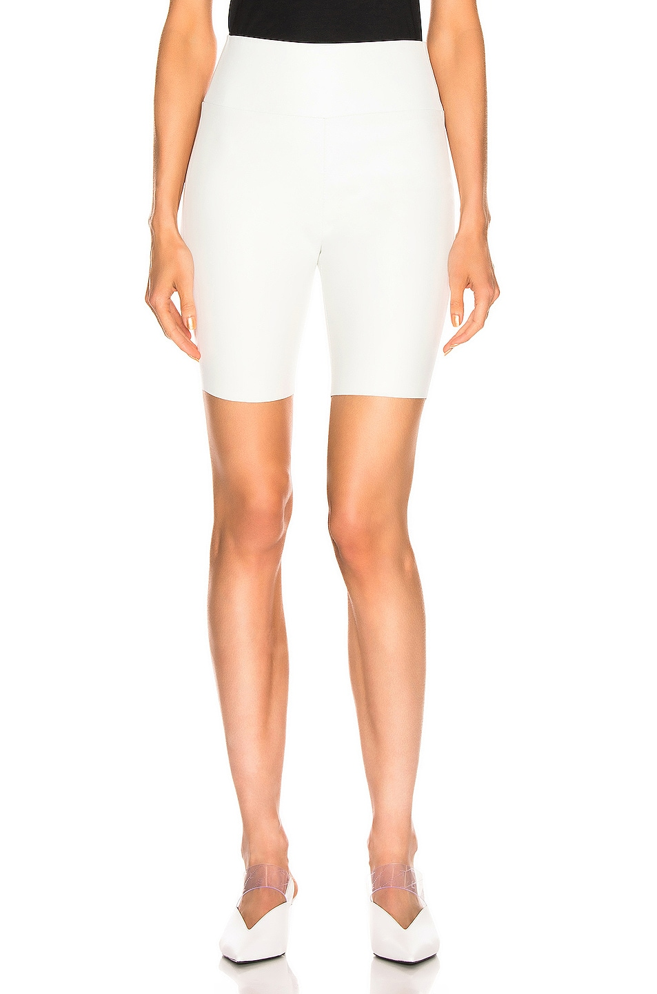 Image 1 of SPRWMN Biker Short in White