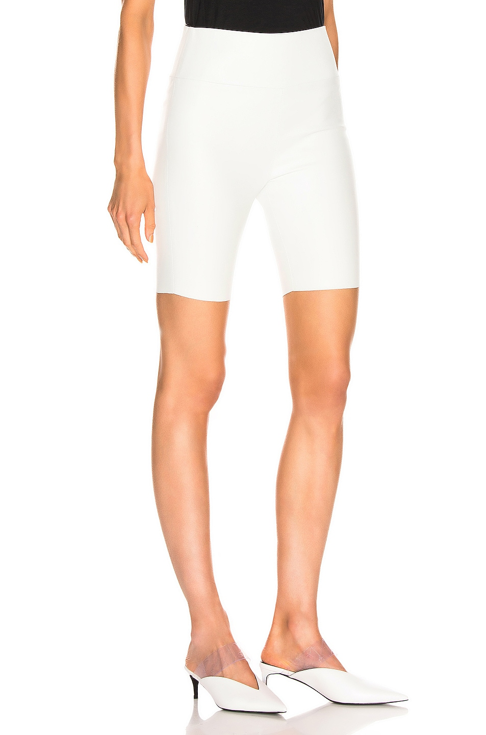 Image 2 of SPRWMN Biker Short in White