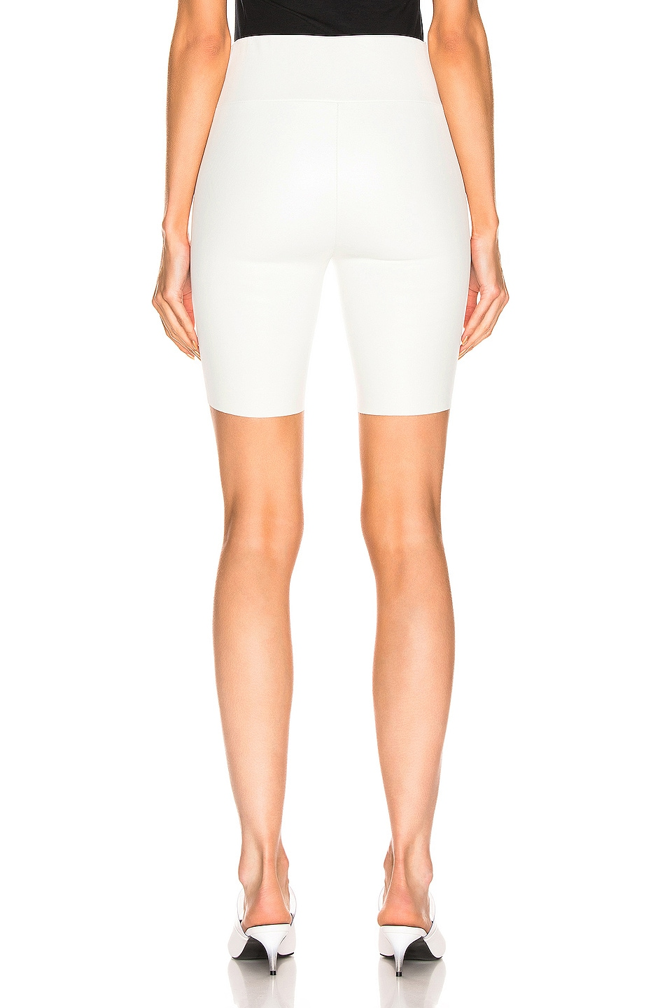 Image 3 of SPRWMN Biker Short in White