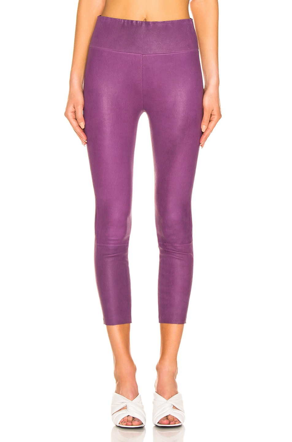 Image 1 of SPRWMN High Waisted Legging in Magenta