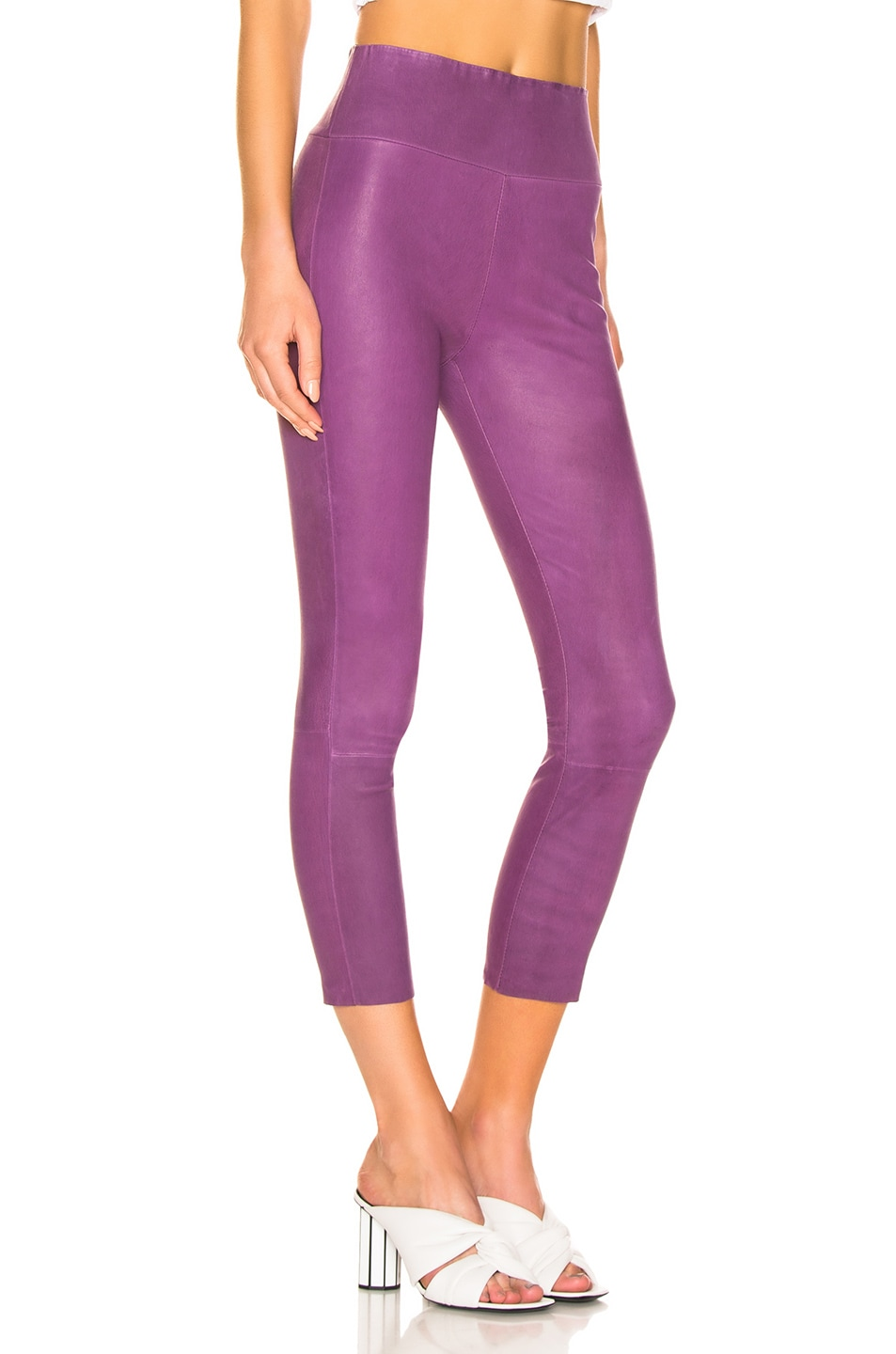 Image 2 of SPRWMN High Waisted Legging in Magenta