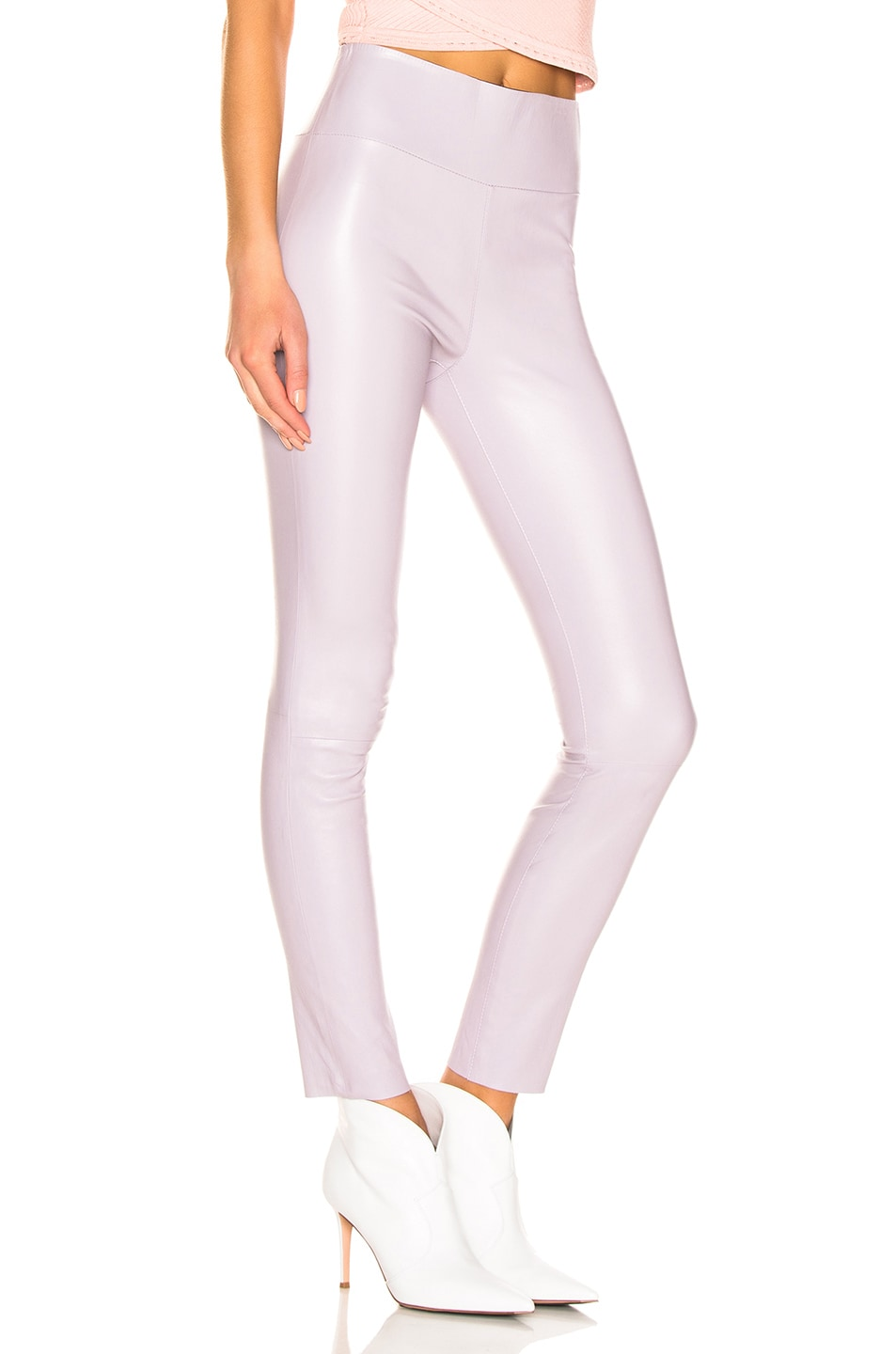 Image 2 of SPRWMN High Waist Ankle Legging in Lavender