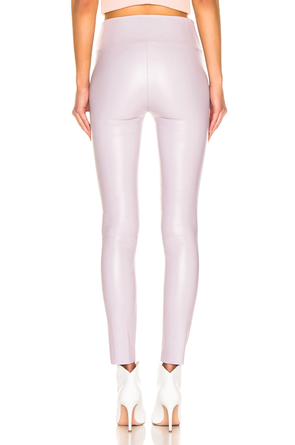 Image 3 of SPRWMN High Waist Ankle Legging in Lavender