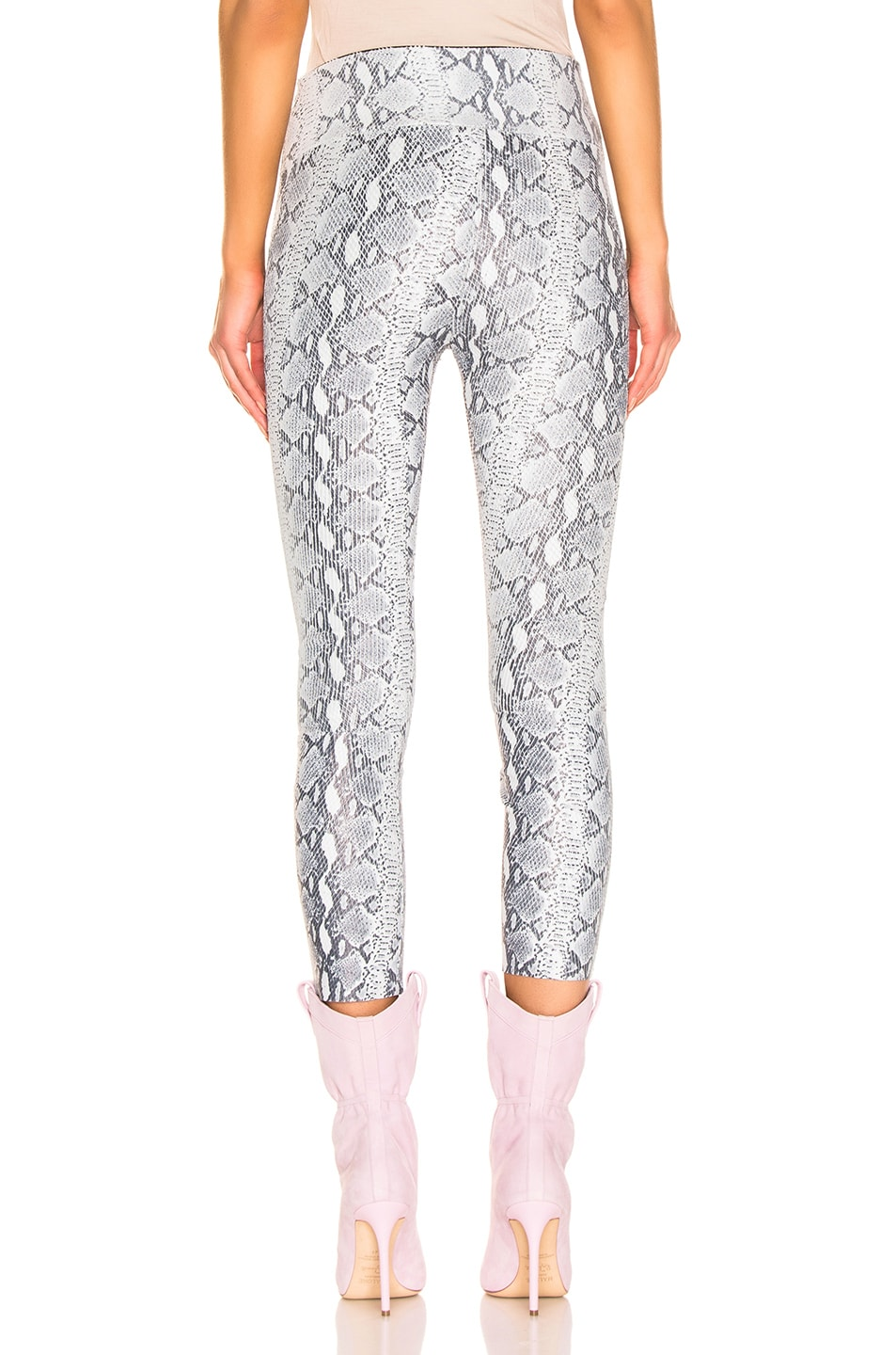 Image 3 of SPRWMN High Waist 3/4 Legging in Grey Snake