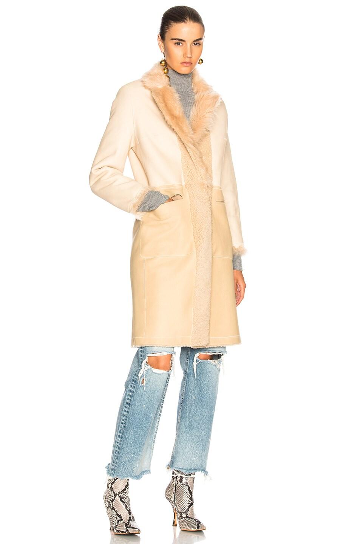 Image 2 of Sprung Konee Fur Coat in Sabel