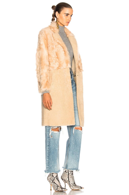 Image 3 of Sprung Konee Fur Coat in Sabel