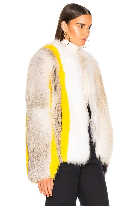 Image 3 of Sprung Cesar Fur Jacket in Multi