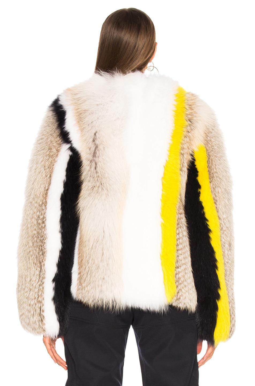 Image 4 of Sprung Cesar Fur Jacket in Multi