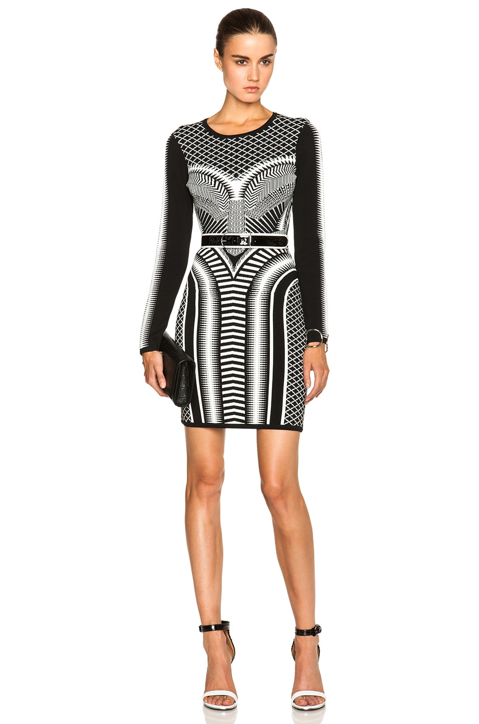 Image 1 of Sass & Bide A Thousand Sacraments Dress in Black & White