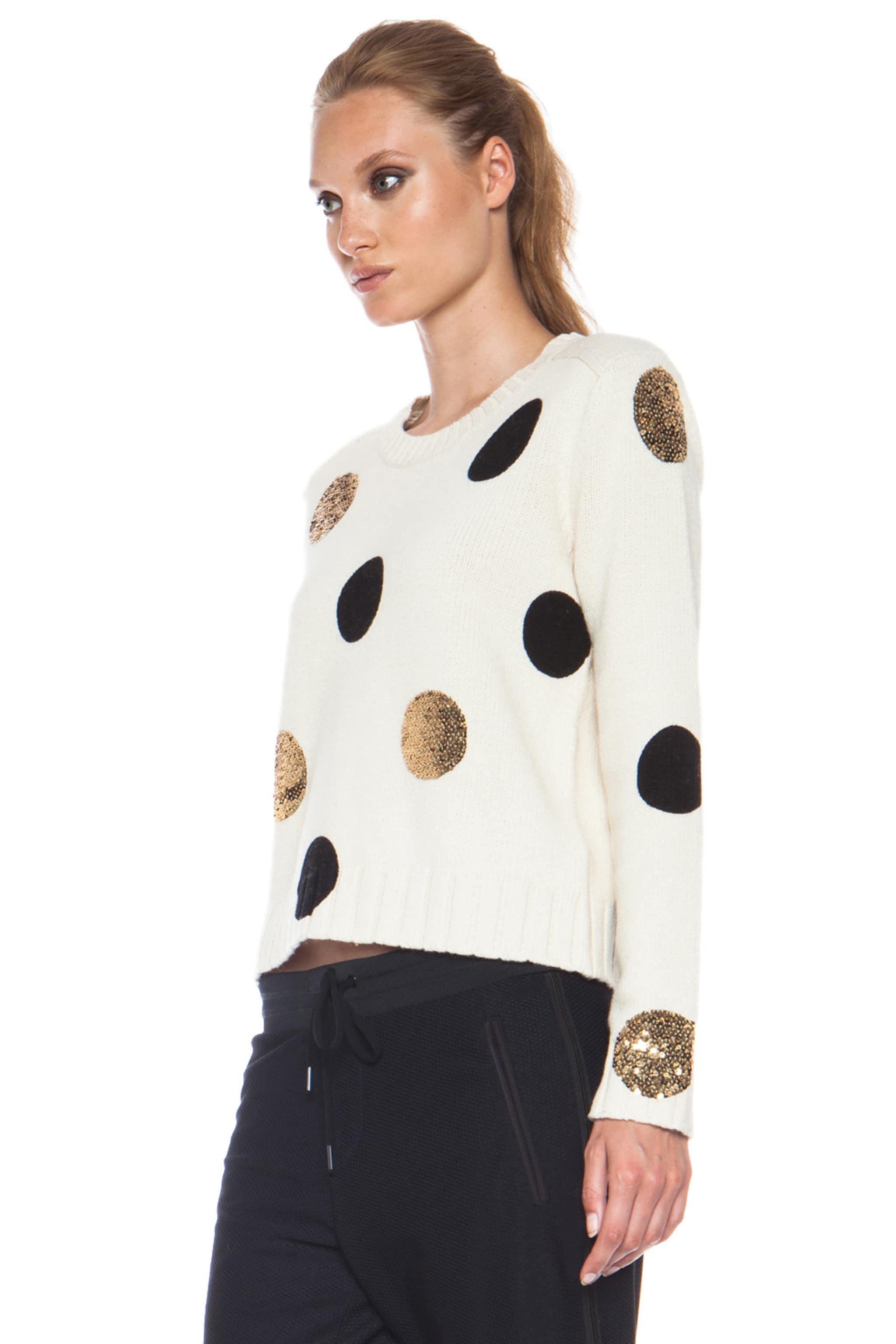 Image 2 of Sass & Bide Between Ordinary Cotton-Blend Sweater in Cream