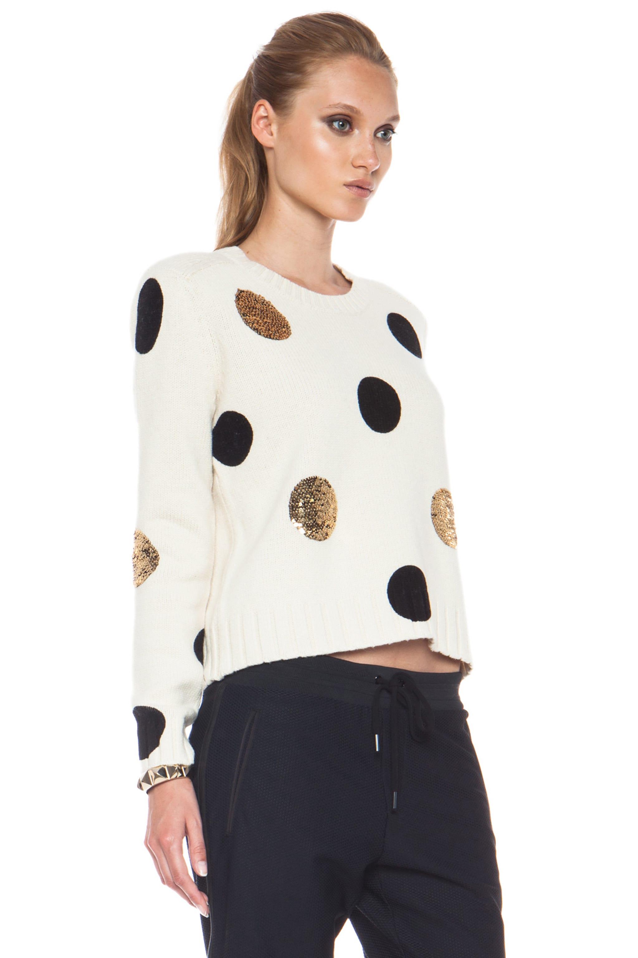 Image 3 of Sass & Bide Between Ordinary Cotton-Blend Sweater in Cream